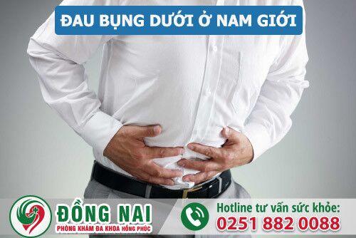 Dấu hiệu đau bụng dưới ở nam giới có thể là bệnh gì?