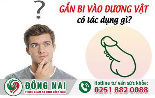 Gắn Bi Cho Nam Có Tác Dụng Gì?
